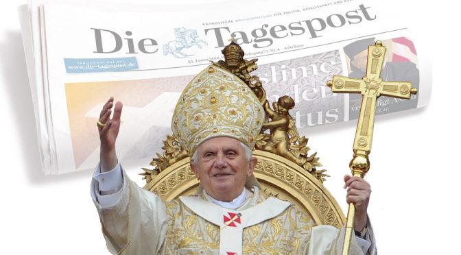 Cionci replies to the Die Tagespost over the faux Resignation of Pope Benedict XVI