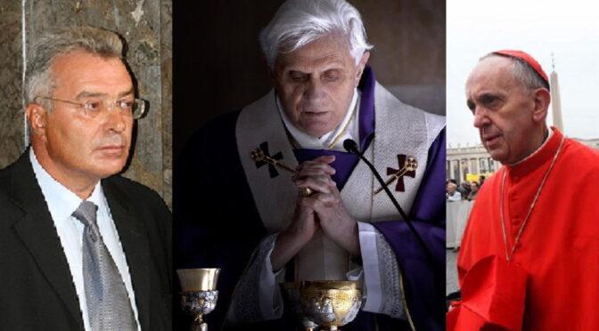 Judge Giorgianni: Benedict XVI never abdicated, Bergoglio is a Cardinal dressed in white!