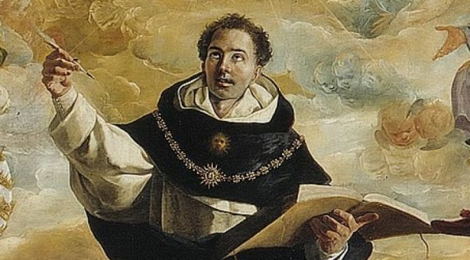 Did Saint Thomas Aquinas approve of receiving communion from heretics, schismatics or sinners?