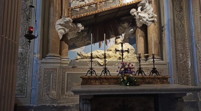 At Rome, it's the Feast of St. Alexis, the man of God