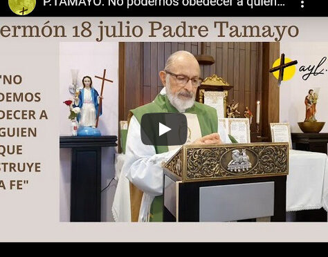 Traditionalist Priest from Costa Rica declares for Pope Benedict XVI!