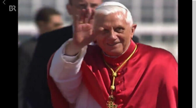 Pope Benedict XVI: Lord, the Church belongs to Thee!