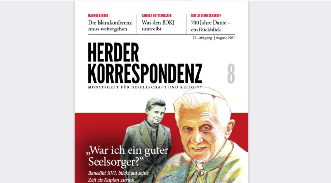 Pope Benedict XVI's Message to the World for the Summer of 2021