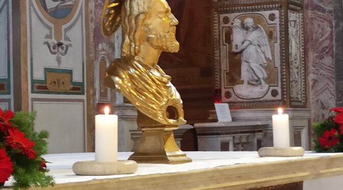 St. Bartholomew, Patron of Christians menaced & martyred by the godless