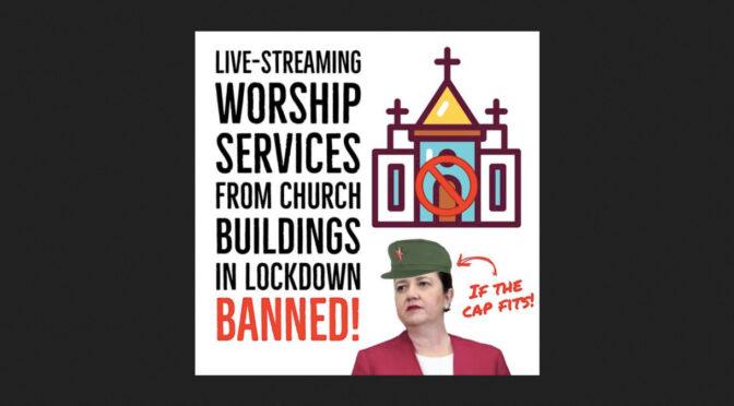 Australia: Queensland Dictatrix bans all live-streamed Masses from Churches