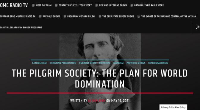 The Pilgrim Society: The British Masonic Plan for World Domination