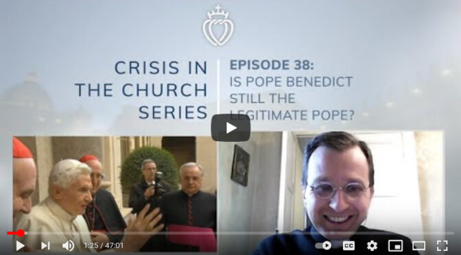 Every Possible Wrong Answer on the topic of Pope Benedict XVI's Declaratio