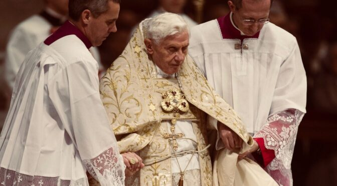 A Prayer for the Imminent Restoration of Pope Benedict XVI