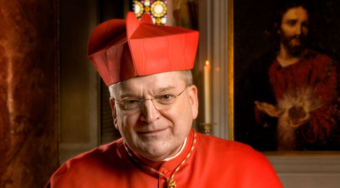 Official Press Release on Cardinal Burke's Status