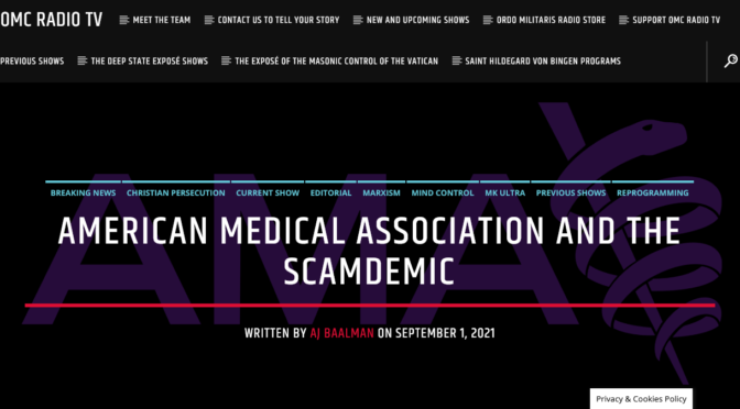 The next time you hear of the American Medical Association, think again