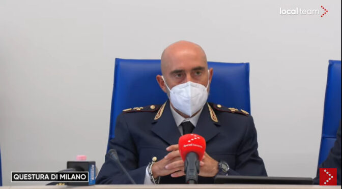 Italy: 8 Persons Arrested for Planning terrorism against pro Vaxx Govt