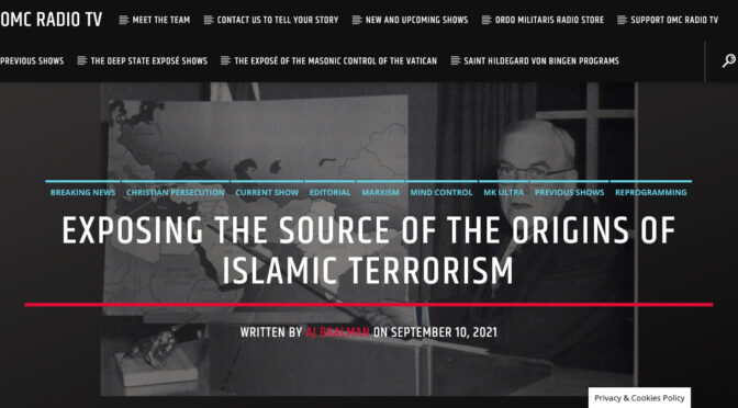 Exposing the real Origins of Islamic Terrorism