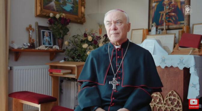 Archbishop Lenga: Benedict XVI's renunciation is invalid & strewn with errors