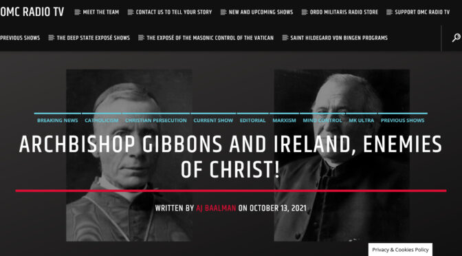 The Arch-Enemies of Christ who betrayed the Church in the USA to the Lodge